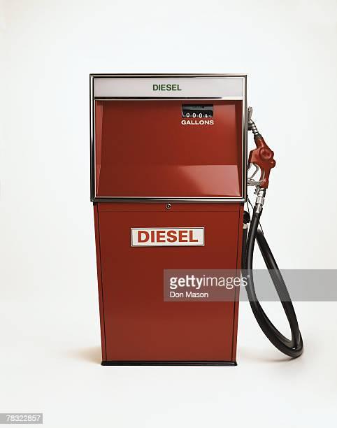 Vintage diesel gas pump