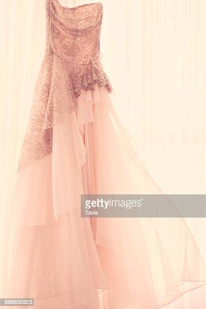 vintage dress - prom dress stock pictures, royalty-free photos & images