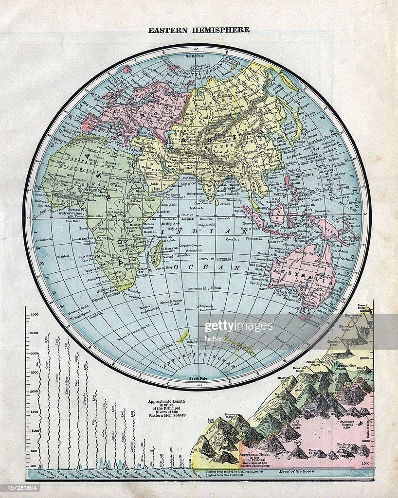 Eastern hemisphere map samsung microwave error se vintage eastern hemisphere map stock photo getty images vintage eastern hemisphere map picture id157281804 157281804 gumiabroncs Choice Image