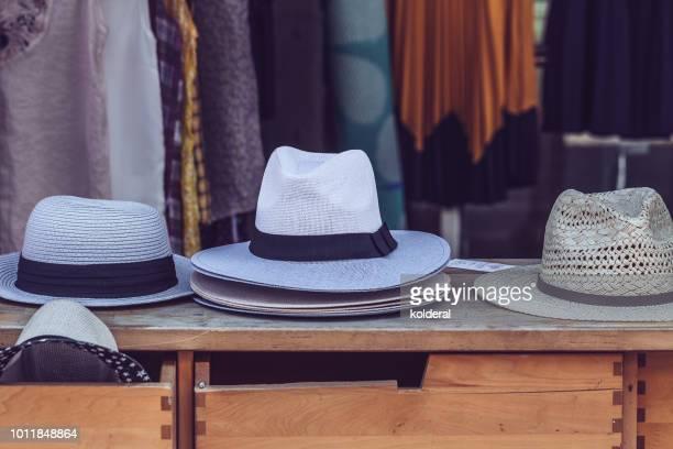 Vintage elegant Panama hats for sale