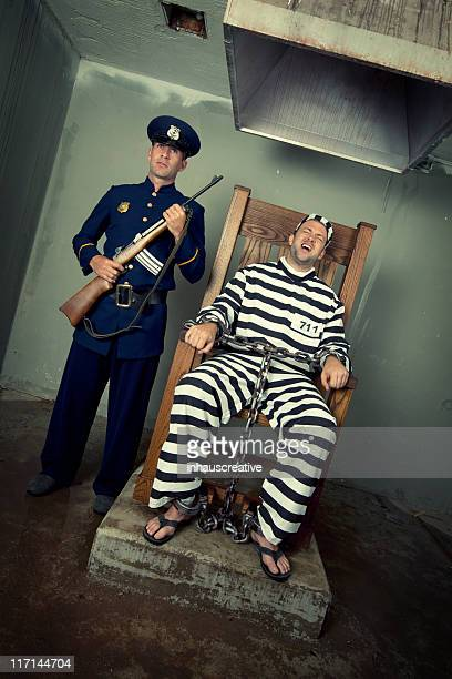 Vintage Execution with Electric Chair