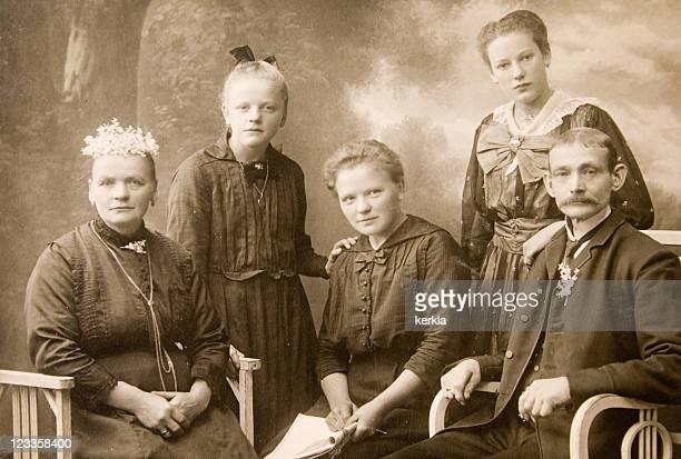 Vintage-Familie