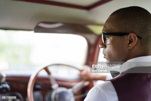 Vintage Fashion With A Classic Car