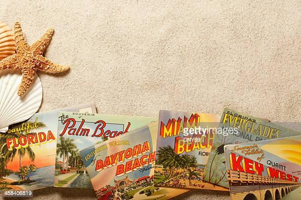 Vintage Florida Postkarten