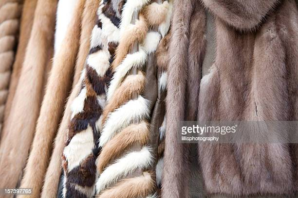 vintage fur coats - fur coat stock pictures, royalty-free photos & images