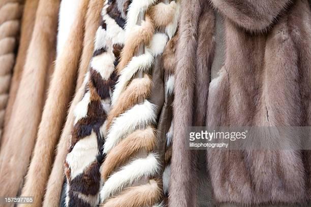manteaux de fourrure vintage - fourrure photos et images de collection