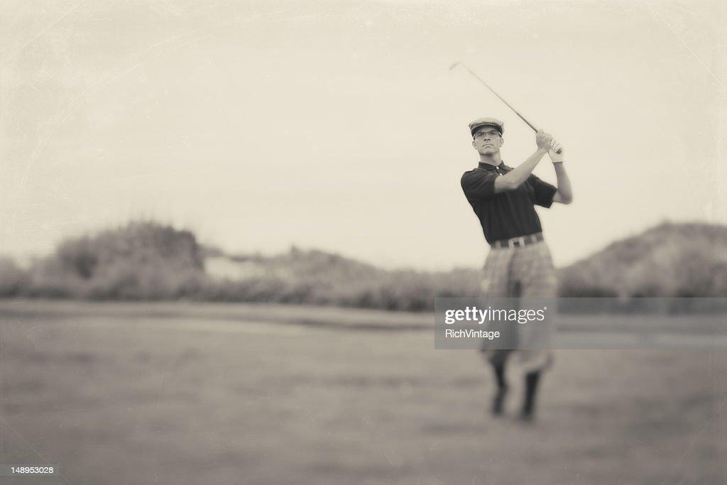 Vintage Golf : Stock Photo