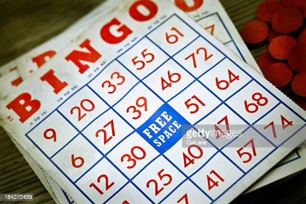 Vintage Grungy Bingo Cards