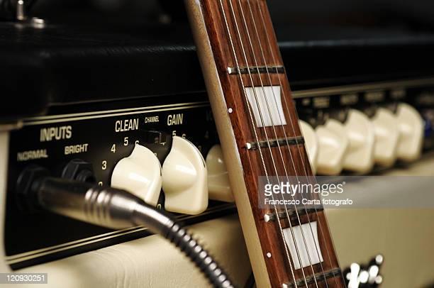 Vintage guitar amplifier