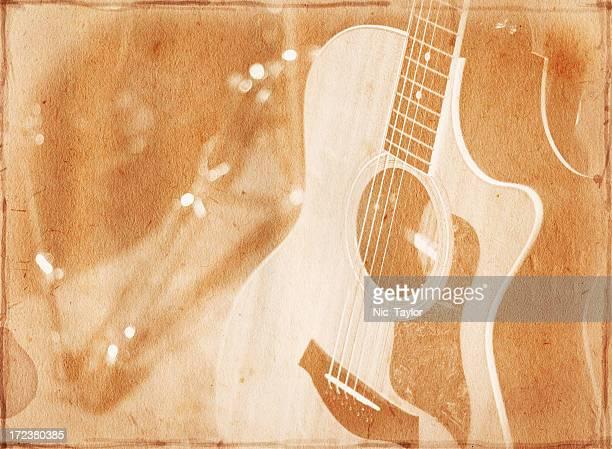 Vintage Guitar Paper XXL