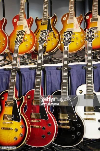 Vintage guitars on display at Newport Guitar Festival