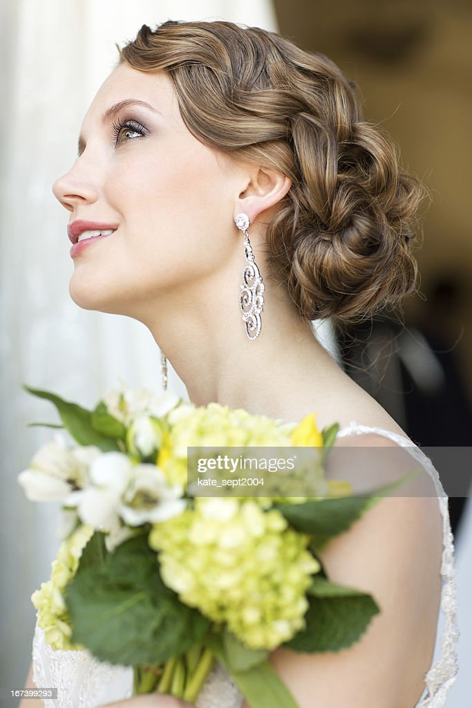 Vintage hair style : Stock Photo