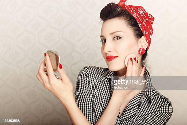 Vintage Housewife Makeup