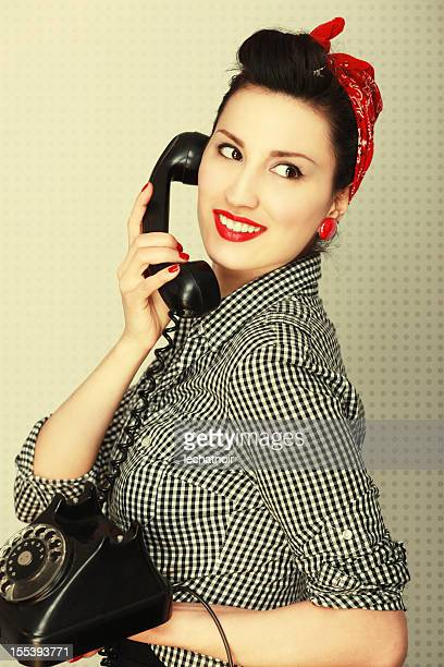 Vintage Housewife Telephone Chat