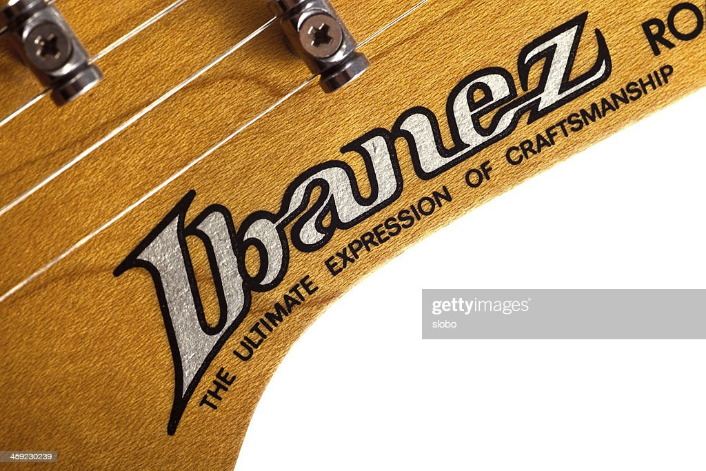 Vintage Ibanez Guitar Headstock Stock Photo - Getty Images