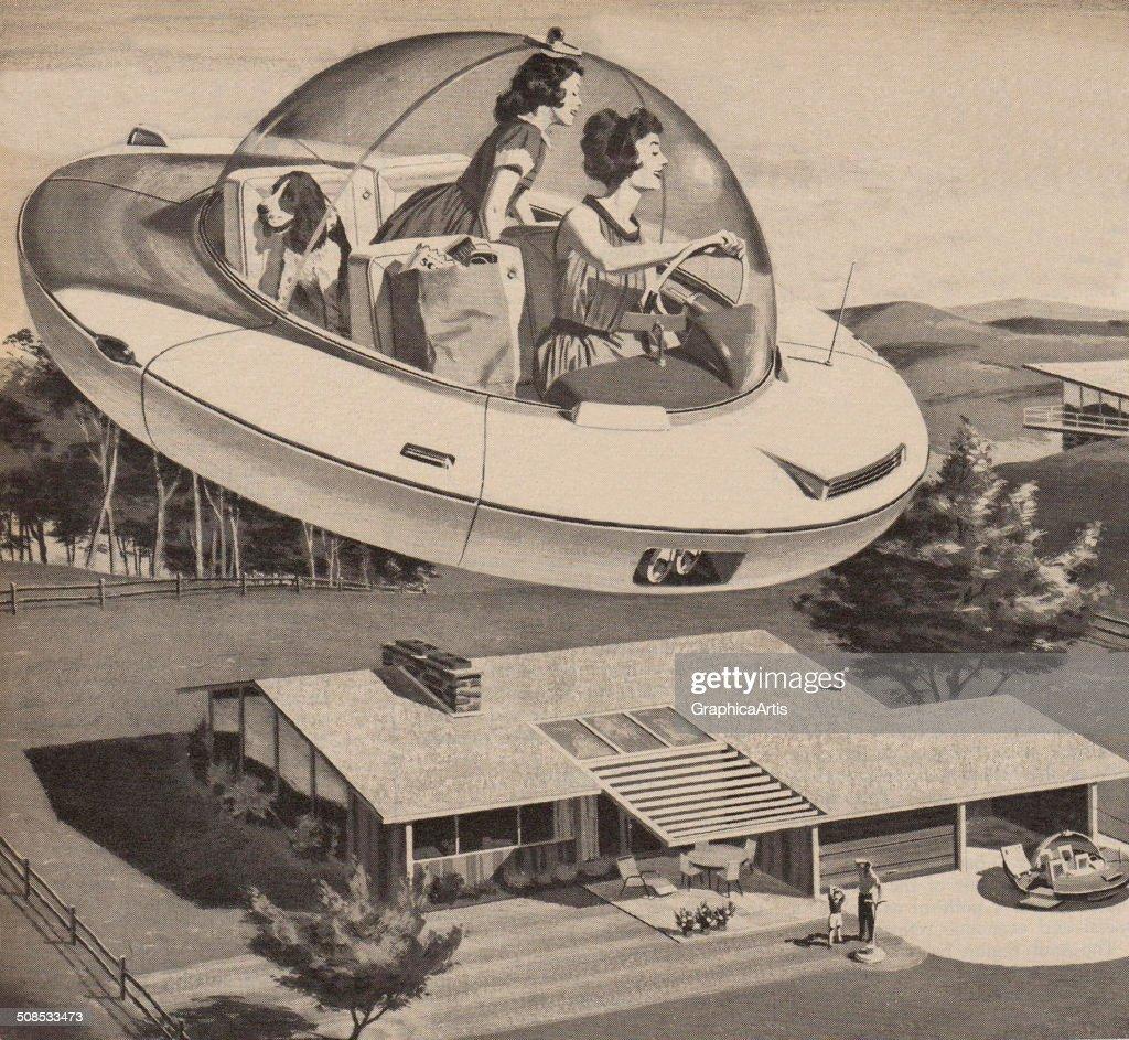 Retro Futuristic Vehicle Designs