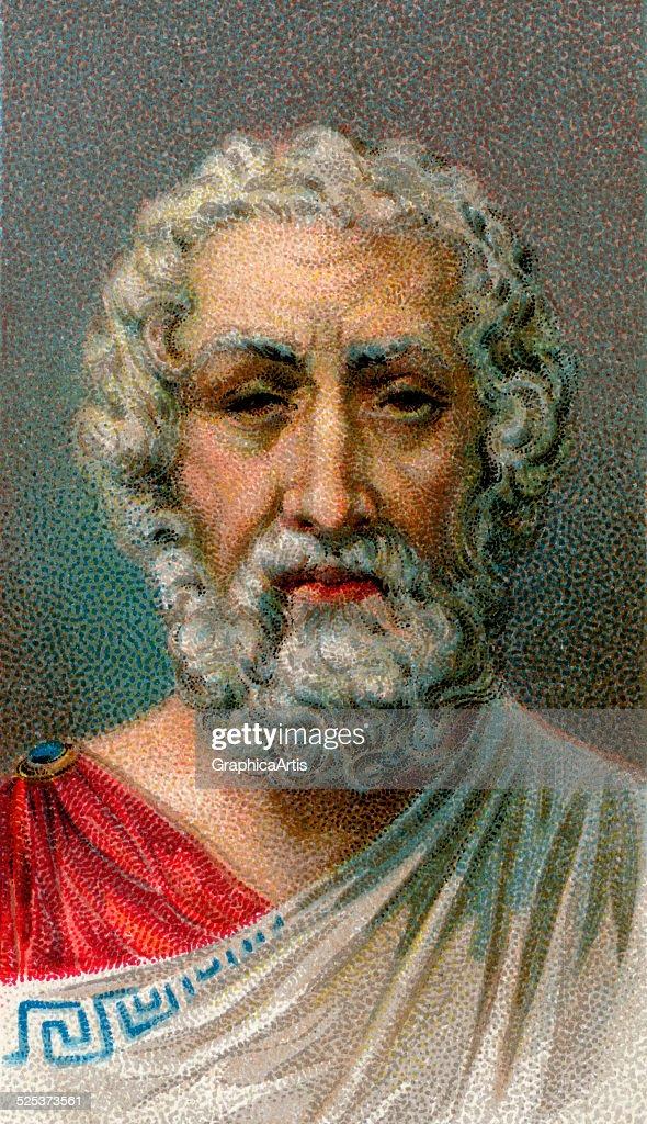 Portrait Of Homer : News Photo