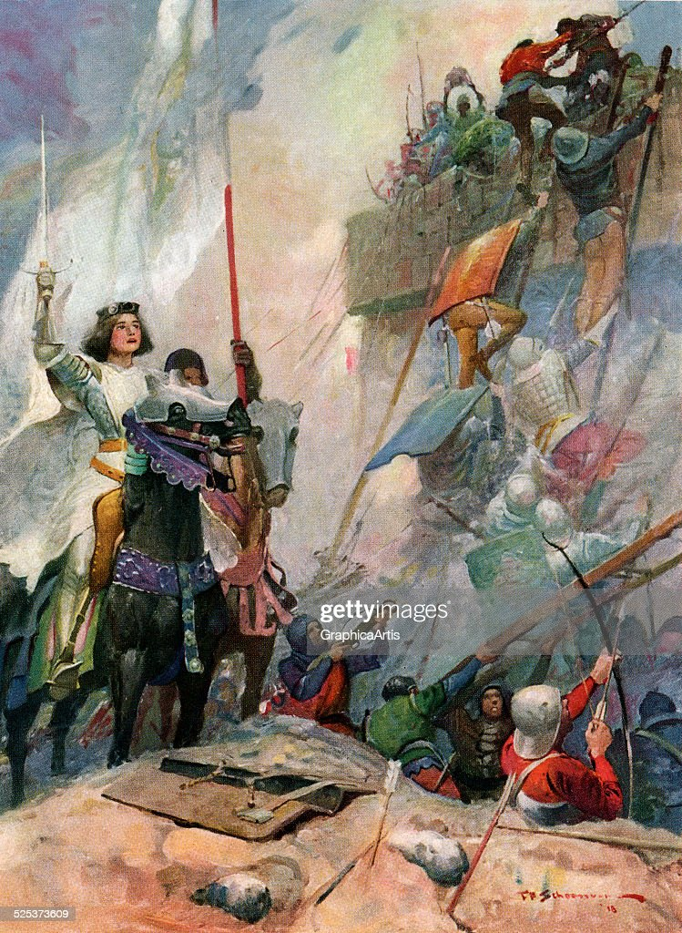 Joan Of Arc At Orleans : News Photo