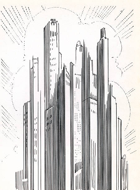 Skyscrapers In American City