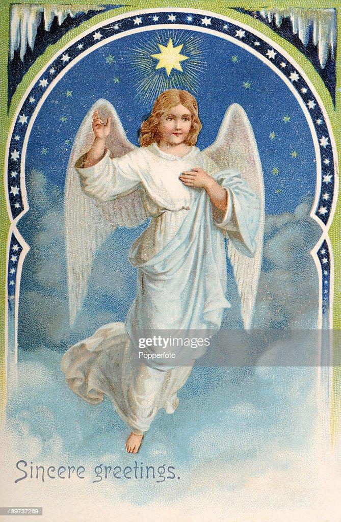 Angel Greetings : News Photo