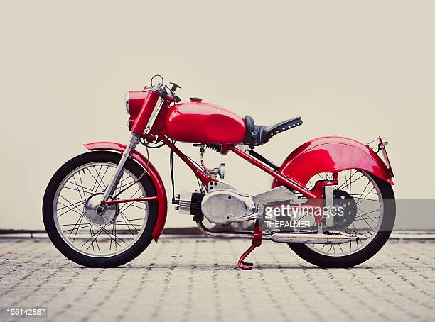 vintage italian motorcycle - vintage motorcycle stock pictures, royalty-free photos & images