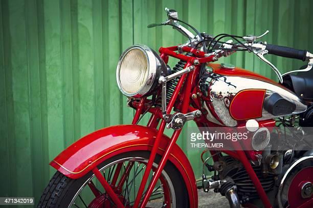 vintage Motocicleta Italiano