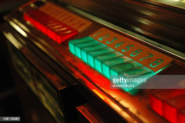 Vintage Jukebox Buttons