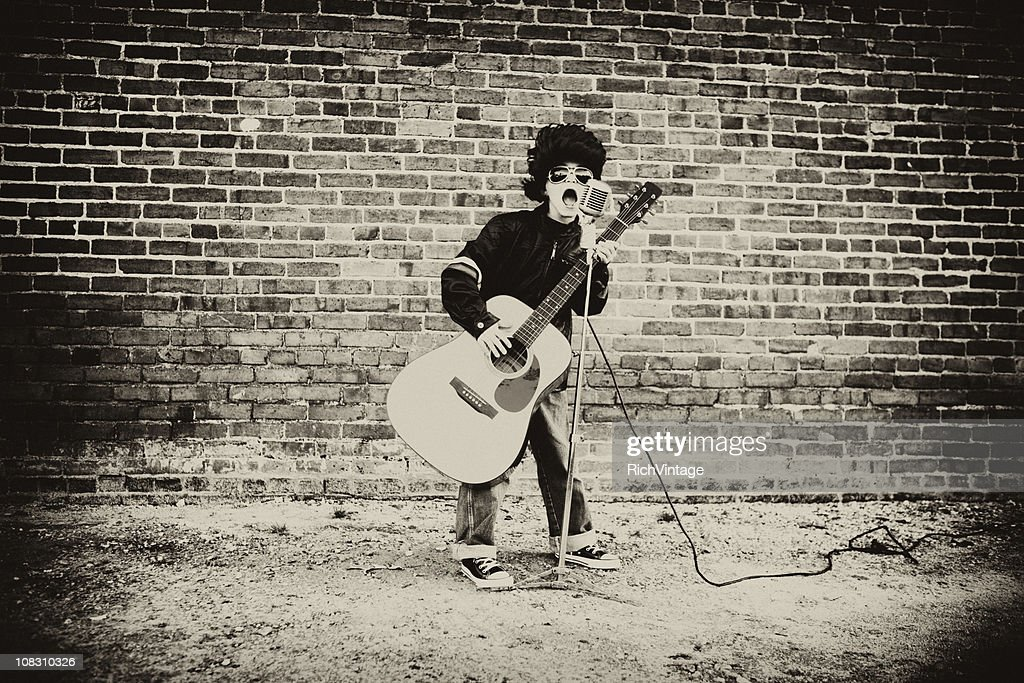 Vintage King of Rock and Roll : Stock Photo