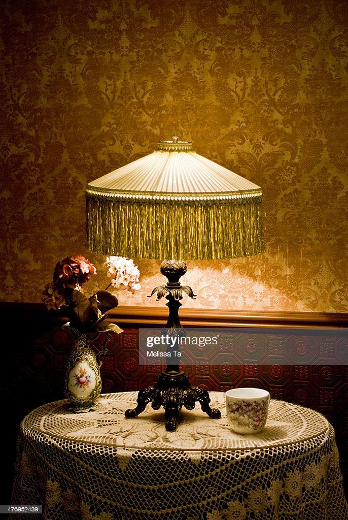Vintage lamp : Stock Photo