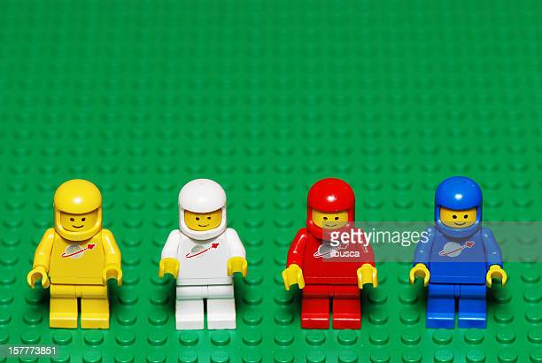Vintage Lego characters from the 80s