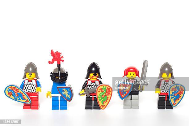 Vintage LEGO Knights Figures