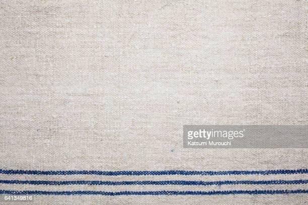 Vintage linen cloth texture background