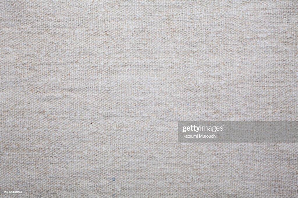 Vintage linen cloth texture background : Stock Photo