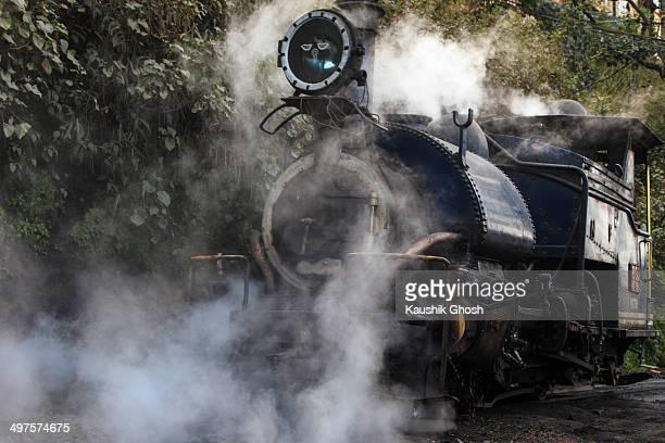 Vintage Locomotive Steam Engine