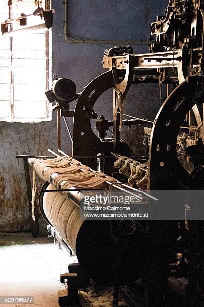 Vintage loom in India