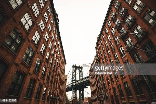 ビンテージ manhattan bridge ニューヨークで