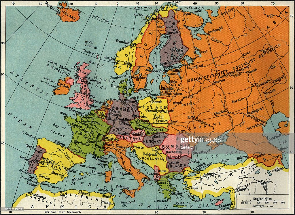 vintage Europa : Stock-Foto