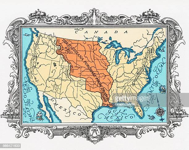 World\'s Best Louisiana Map Stock Pictures, Photos, and ...