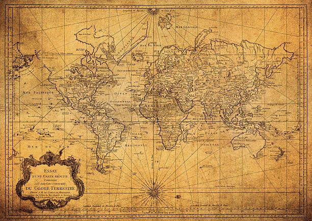 Free vintage world map images pictures and royalty free stock vintage map of the world 1778 gumiabroncs Gallery