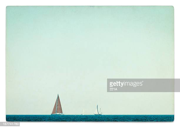 Vintage mare Mediterraneo