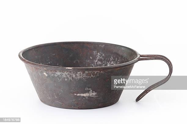 Coupe Vintage en métal avec poignée en
