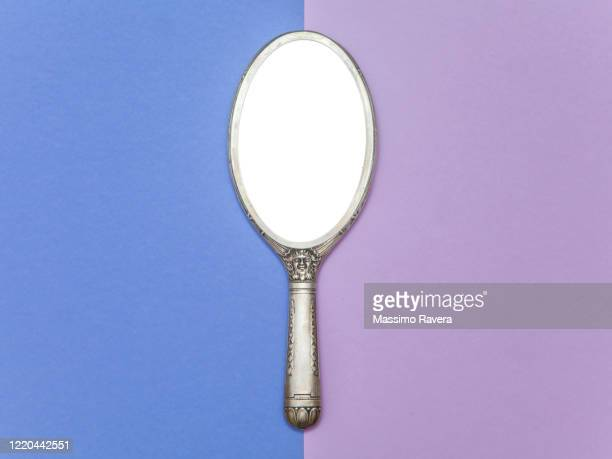 vintage mirror - mirror object stock pictures, royalty-free photos & images