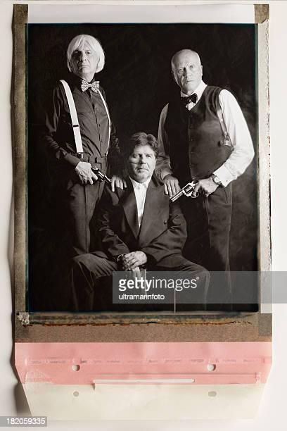 Vintage Mobsters Porträt