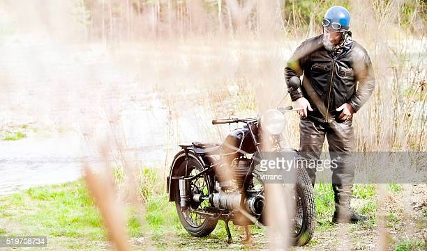 Vintage roja Rider