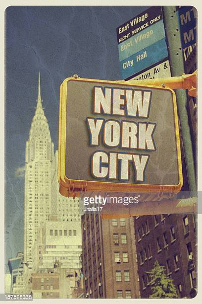 Vintage New York City Postcard
