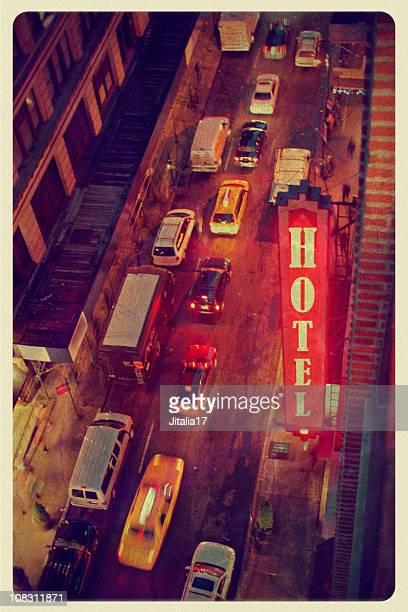 Vintage New York Hotel Postcard