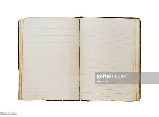 Vintage Notebook- Open