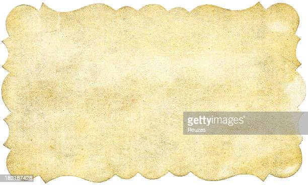 Verzierte Papier