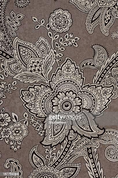 Vintage Paisley Retro Wallpaper