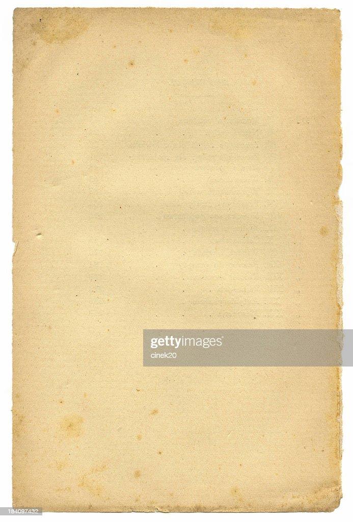 Vintage paper : Stock Photo